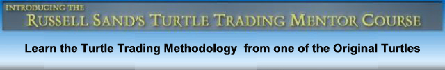 Russell Sands' Turtle Trading Mentor Course